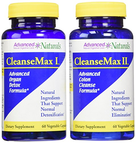 Advanced Naturals Cleansemax 2-Part Kit