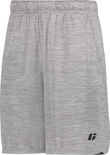 Jolt Gear Gym Shorts Grey, L (Short Relaxed Training)
