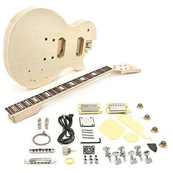 Kit de Bricolaje de Guitarra Eléctrica New Jersey: Amazon.es: Instrumentos musicales