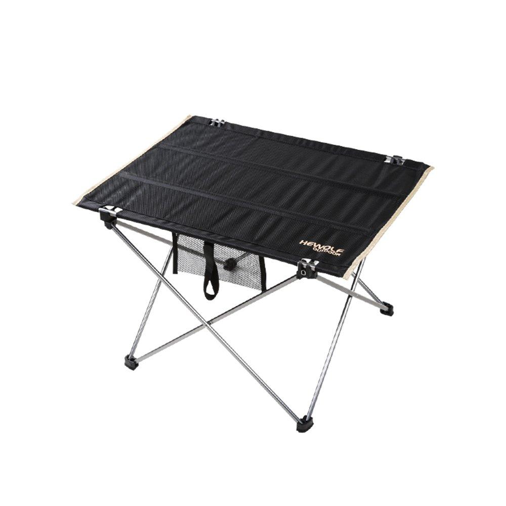 ZZHF 折りたたみテーブル超軽量アルミのテーブルとチェアは、ポータブルコンビネーションテーブルと椅子を設定します。 デスク ( 色 : A ) B07C4Q3JD8 A A