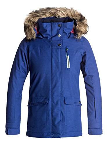 Roxy Big Girls' Tribe Snow Jacket, Sodalite Blue, 14/XL by Roxy
