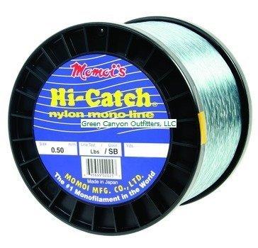 Momoi's Hi-Catch - 2 lb. Spool - 40 lb. - 3100 yd. - Smoke Blue by Momoi