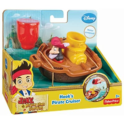 Fisher-Price Disney Jake and The Never Land Pirates Hook's Pirate Cruiser: Toys & Games