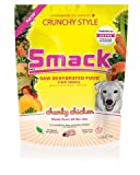 Smack Pet Organic Crunchy Raw Dehydrated Dog Food GMO/Gluten/Grain/Antibiotic Free (Chunky Chicken, 2.5 kg/5.5 lb)