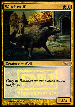 Magic: the Gathering - Watchwolf - FNM 2009 - FNM Promos - Foil