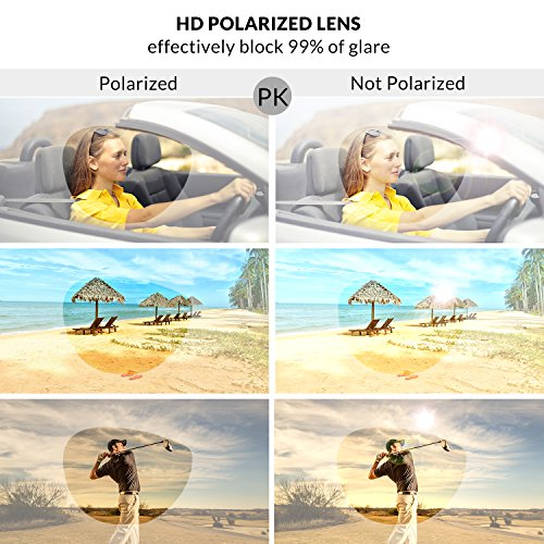 Polarized Frame Sunglasses 100 Protection for Sports UV400 Goggles Blue Men Silver Lens ADEWU Outdoor dOx5qOI