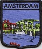 Amsterdam Écusson drapeau des Pays-Bas