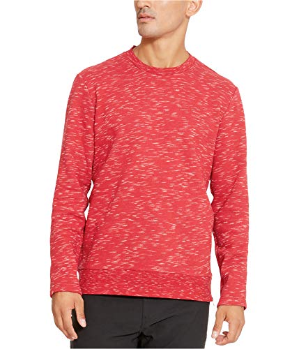 Kenneth Cole REACTION Space Dye Long-Sleeve Crew Rio Red