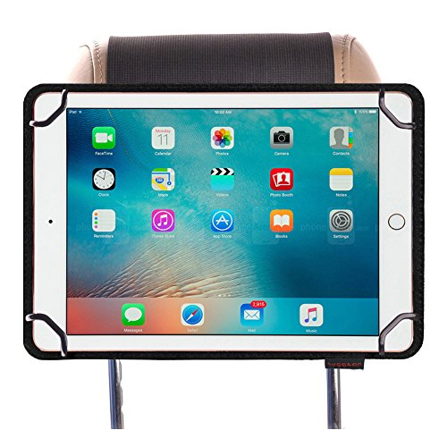 Zuggear Universal Tablet PC Car Headrest Mount, Strap Case Tablet Holder for iPad Pro 9.7 inch to 10.5 inch Tablet PC Car Mount