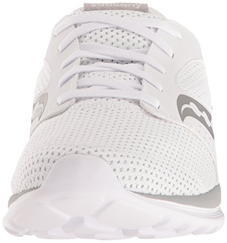 Men's White Relay Kineta Shoes Saucony Grey Running XRwqZdnRx8