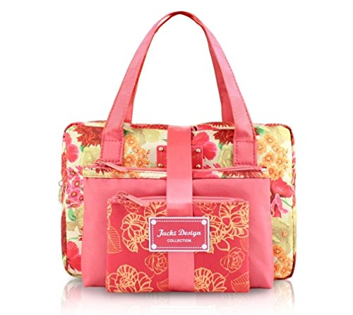 jacki-design-miss-cherie-3-piece-cosmetic-bag-gift-set-coral