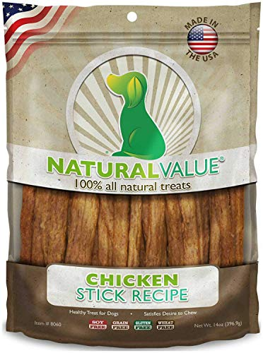 - Loving Pets Chicken Sticks Soft Chews for Dogs, Natural Value, 14 Ounce, 6 Pack