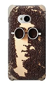 S0690 John Lennon Coffee Case Cover for HTC ONE M7 by runtopwell