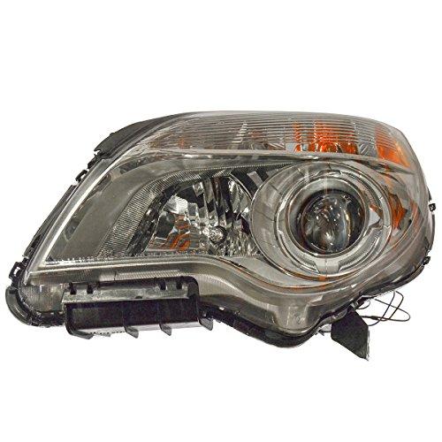 Front Left Headlamp - Front Headlight Headlamp Left LH Driver Side for 10-13 Chevy Equinox LTZ Models