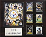 NFL Pittsburgh Steelers 6 Time Champions Plaque