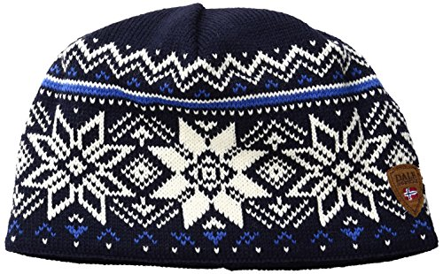 (Dale of Norway Holmenkollen Hat, Navy/Off White/Cobalt, One Size)