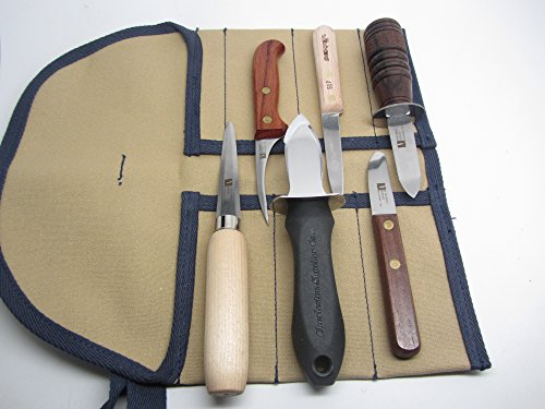 Murphy Dexter Russell Chesapeak Little Neck Scallop Shellfish Seafood Knives & Shuckers by UJ Ramelson Co