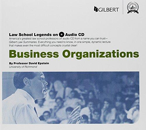 Download Law School Legends Audio on Business Organizations (Law