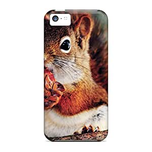 New Diy Design Squirrel For Iphone 5c Cases Comfortable For Lovers And Friends For Christmas Gifts