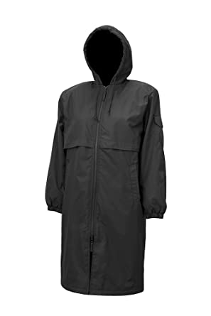 Amazon.com : Adoretex Solid Swim Parka Youth - Black Lining ...