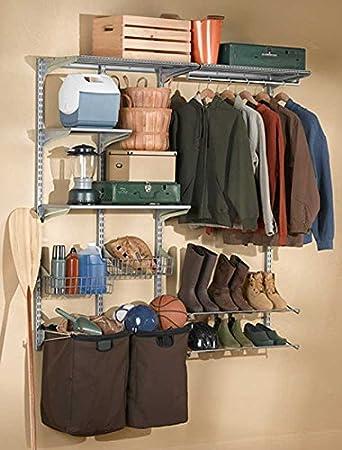 Amazon.com: Sistema de pared de cochera con perchero: Home ...