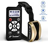 Training Dog Collar - A+ Trainer 800 Yards Range Remote Dog Training Collar,(5 Years Warranty) Rechargeable and Waterproof Dog Shock Collar with Beep, Vibration and Shock Dog Collar for Small, Medium and Large Dogs