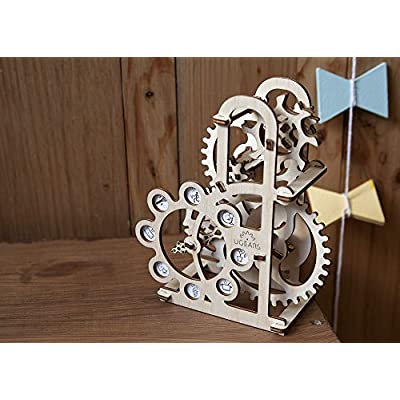 S.T.E.A.M. Line Toys UGears Mechanical Models 3-D Wooden Puzzle - Mechanical Dynamometer: Toys & Games