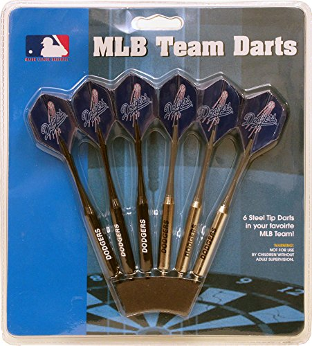 Team Logo Dart - MLB Los Angeles Dodgers 12