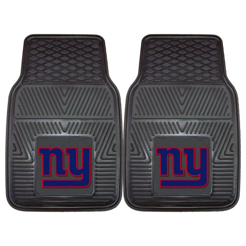 (FANMATS NFL New York Giants Vinyl Heavy Duty Car Mat)