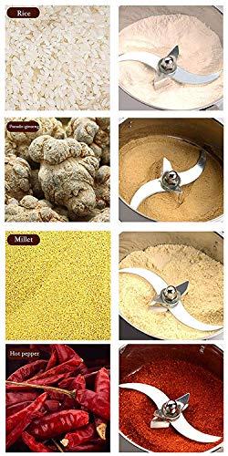 300g Electric Grain Mill Spice Herb Grinder Pulverizer
