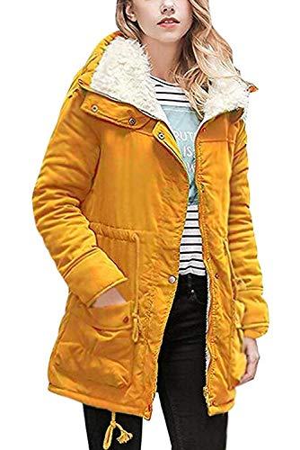 Fausse Trench Chale Taille Veste Oversize Mi Blouson Blazer Grande Longue Manteau Femme Long Avec Peluche Chaud Classique Color Gilet 08 Col Fourrure Hiver Parka Vintage Polaire Montant Cardigan Doublé Manche zgXwxwFtq