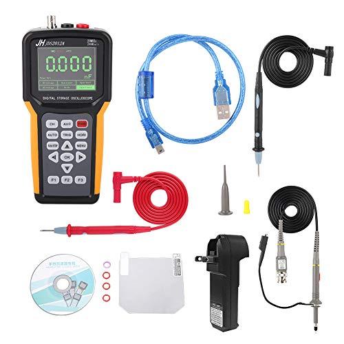 - Oscilloscope, 100-240V Handheld Digital TFT LCD USB Storage Device 200MSa/s Oscilloscope Portable Scope Meter 20MHz JDS2012A/ JHJDS2022A(JDS2012A)