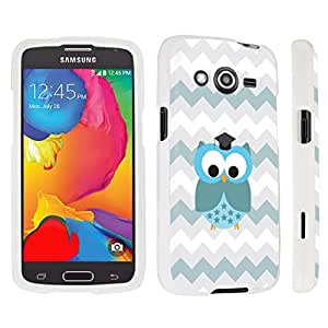 DuroCase ? Samsung Galaxy Avant G386T Hard Case White - (Cute Owl)