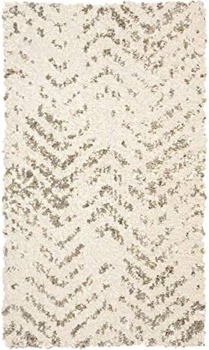 Amazon Com Allen Roth Alvida Off White Indoor Distressed Throw Rug Common 2 X 3 Actual 1 11 Ft W X 3 3 Ft L Home Kitchen