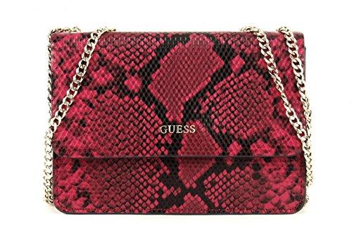 Shoppers y bolsos de hombro para mujer, color Rojo , marca GUESS, modelo Shoppers Y Bolsos De Hombro Para Mujer GUESS NIKKI CONVERTIBLE XBOD Rojo