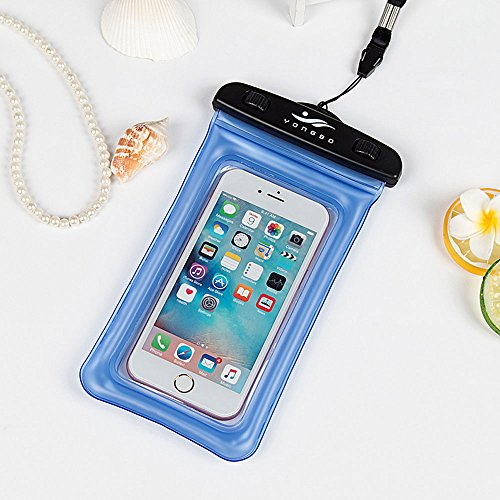 Universal Waterproof Case, JOTO CellPhone Dry Bag Phone Pouch for iPhone 8/7/7 Plus/6S/6/6S Plus/SE/5S, Samsung Galaxy S8/S8 Plus/Note 8 6 5 4, Google Pixel 2 HTC LG