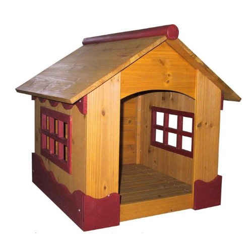 (Merry Pet House Wooden Ice Cream Dog House)