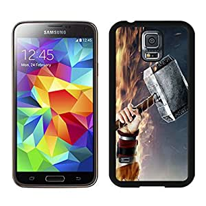 Perfect fit for your beloved phone,100% Brand New Thors Hammer Black For Samsung Galaxy S5 i9600 Case