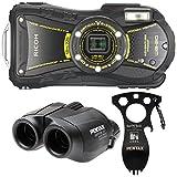 Ricoh Waterproof Digital Camera Ricoh Wg-20 Black
