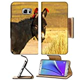 Liili Premium Samsung Galaxy Note 5 Flip Pu Leather Wallet Case One of the cute donkeys in Cordillera de Lipez Note5 IMAGE ID 21264005