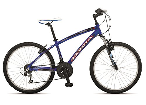 """Orbita Europa 24″ – Bicicleta BTT de montaña para niño, 18 velocidades, Cuadro 14"""" Aluminio, Frenos V-Brake, (9-12 años)"""