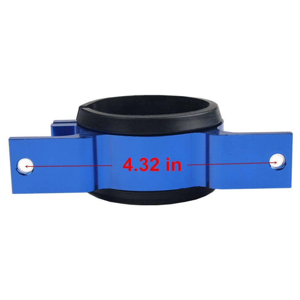 Dewhel fuel pump mount mounting bracket clamp cradle For BOSCH 044 Blue