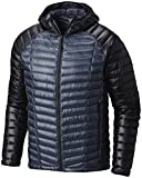 Mountain Hardwear Ghost Whisperer Down Hooded Jacket - Men's Zinc/Black Large