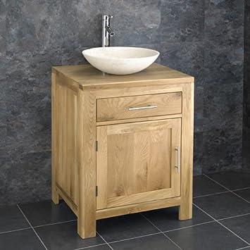 Clickbasin 60cm Wide Alta One Door Vanity Cabinet With Portici Galala Round  SinkClickbasin 60cm Wide Alta One Door Vanity Cabinet With Portici  . Round Bathroom Cabinet Uk. Home Design Ideas