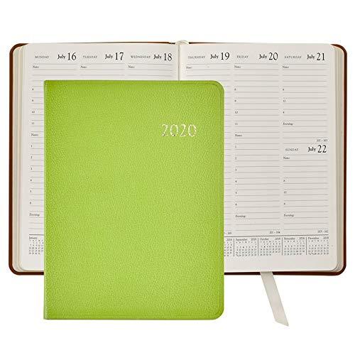 2020 Desk Diary/Organizer/Appointment Book, Genuine Leather, 9
