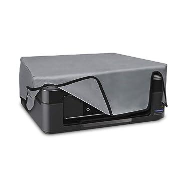 kwmobile Funda para Epson Expression XP 255-455 - Cubierta Protectora Antipolvo de Impresora - Forro Protector Gris Claro