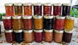 JELLY/JAM/HONEY GIFT BOXES - 12 (1/2 PINT EACH) ASSORTED FLAVORS - ORGANIC AND ARKANSAS GROWN - GREAT HOLIDAY GIFT ITEMS!