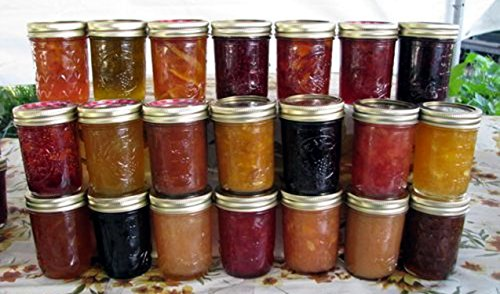 - JELLY/JAM/HONEY GIFT BOXES - 12 (1/2 PINT EACH) ASSORTED FLAVORS - ORGANIC AND ARKANSAS GROWN - GREAT HOLIDAY GIFT ITEMS!