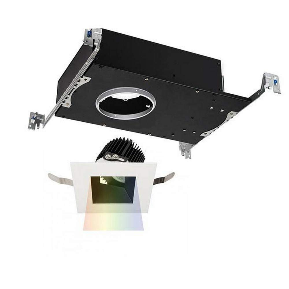 注目 WAC Lighting 90CRI Lighting R3ASAT-N930-BKWT Aether Square Square 調整可能トリム LEDライトエンジン付き 狭い25ビーム 3000K ソフトホワイト 90CRI ブラックホワイト B075NNLZWN, 大吉屋:47b994f6 --- a0267596.xsph.ru