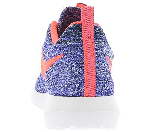 NIKE Flyknit Rosherun Hombres Sneaker violeta 677243 500